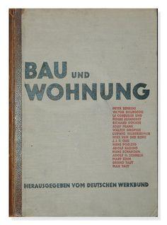 """Book """"Bau und Wohnung"""" by Willi Baumeister - Verlag"""