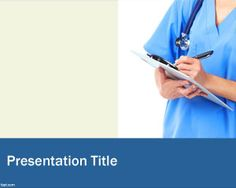 Nursing powerpoint theme ideal for nursing presentations. Visit fppt.com to get free medical powerpoint templates.