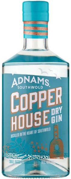 Gin von Adnams in einer 0,7 l Flasche mit 48% Vol. Alc.  I was not keen on this one