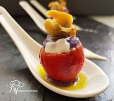 Appetizers For Party, Appetizer Recipes, Xmas Dinner, Xmas Food, Hors D'oeuvres, Food Decoration, Sin Gluten, Catering, Food And Drink