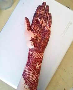 Moreover it is important to pick the Latest and Beautiful Henna Bridal mehndi designs that can give you the best nature of the designs along with Images . Mehndi Designs Front Hand, Latest Bridal Mehndi Designs, Full Hand Mehndi Designs, Mehndi Designs For Girls, Henna Art Designs, Mehndi Design Photos, New Bridal Mehndi Designs, Mehndi Designs For Fingers, Beautiful Mehndi Design