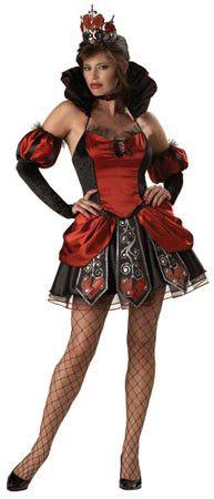 queen of broken hearts designer costume adult - High Quality Womens Halloween Costumes