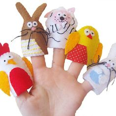 Baby Animal Finger Puppets