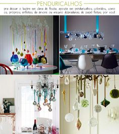 Colors to Christmas decoration.