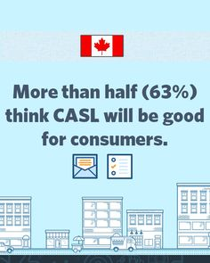 Most Canadian small businesses surveyed think CASL will be good for consumers and businesses but are less certain of the direct impact on their own businesses.