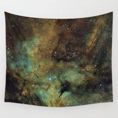 Wall Tapestry featuring Gamma Cygni Nebula by Space99