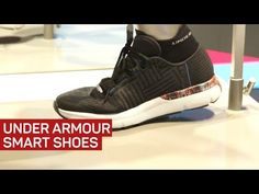 Under Armour's smart shoe tells you if you're tired