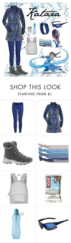 """""""Katara"""" by tclillis ❤ liked on Polyvore featuring adidas, Title Nine, Skechers, Ribband, Fiorelli, SW Global, Fitbit, Katara and thelastairbender"""