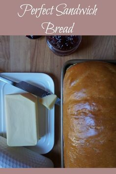 Perfect homemade bread every time - dairy free, low in sugar!