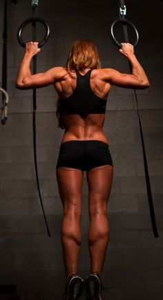 Note to self to work on back, shoulders, and calves.  #Fitspiration #Crossfit