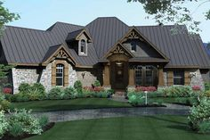House Plan 120-172 - Okay, I love this house!!  Build it today and I will move tomorrow.  Perfect!