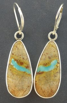 Royston Ribbon Turquoise Royston Turquoise Boulder by LOchsners
