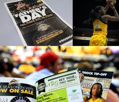 Harvest Crate and Tulsa Shock Advertising Design