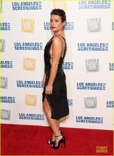 Lea Michele: Fox L.A. Screenings Lot Party! | lea michele fox la screenings lot party 01 - Photo