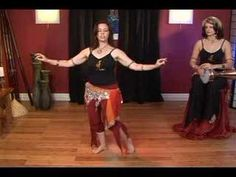 Egyptian Folkloric Belly Dance : Smooth Side Arabic Belly Dance Move