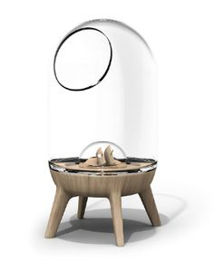 Bell-jar fish bowl