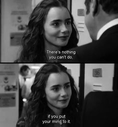 black, black and white, can do, do, future, happy, life, life quotes, lily collins, mind, quote, quotes, quotes and sayings, rosie, text, word, love rosie, what the future holds