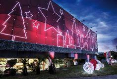 PONTO FRIO SHOPPING CENTER BRESIL 2012 CHRISTMAS LIGHT ILLUMINATIONS NOEL GUILANDES LED