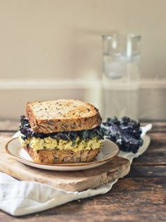 Healthier Egg Salad with Tarragon & Pickled Celery | The Gouda Life ...