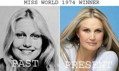 Anneline Kriel won Miss World 1974