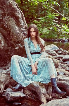 """Zara Woman Fall/Winter 2016 Campaign """"Disco Forest"""" Look-04"""