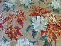 Hey, I found this really awesome Etsy listing at https://www.etsy.com/listing/118125475/vintage-40s-barkcloth-cotton-fabric-23