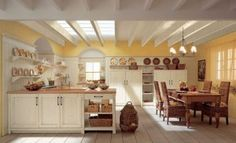 cozinhas rústicas madeira pintada - Fotos de Decoração