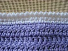 Reverse Single Crochet Border - Rainbow Connection Crocheted Oddball Blanket