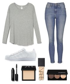 """"" by oliviacarolineantonia ❤ liked on Polyvore featuring Topshop, adidas Originals, NARS Cosmetics, Smashbox, Bobbi Brown Cosmetics, women's clothing, women, female, woman and misses"