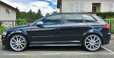 A3 sportback cvt Audi Sportback, Audi Rs8, Vw Wagon, A3 8p, Mercedes Benz Gl, Black Cars, Motor Sport, Car Stuff, Car Pictures