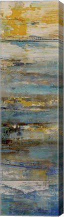 Beyond the Sea I Abstract Canvas Wall Art Print by Erin Ashley