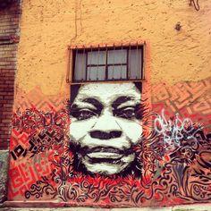 Bogotá street art by Corrosivo Carsal