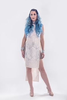 Rose $322 #tunique #sequins #shimmer #fashion #glam #cutout #canadianfashion #responsibleluxury #ecofriendly