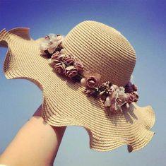 e9a5404da06 Garland Bow Fashion sun hat Women summer sun visor cap Ladies casual wild  beach cap Material  Straw Department Name  Adult Gender  Women Style   Casual ...