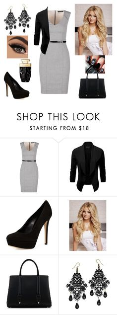 """WorkWear"" by paoladouka on Polyvore featuring Charles David and La Perla"