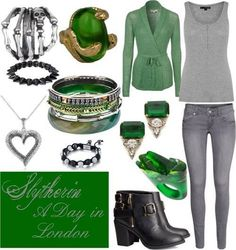 Slytherin's day in London