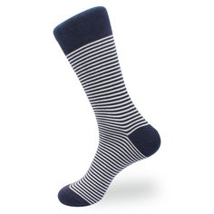 big band at the top- possibly with wording round it? Blue Stripes, Navy Blue, Blue And White, Black, Business Casual Men, Men Casual, Sophisticated Outfits, Blue Socks, Monk Strap Shoes