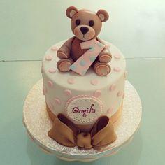 #bear#cake#chocolat#lapequeñapasteleriademama (en La Pequeña Pastelería de Mamá)