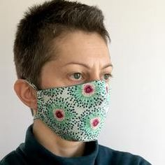 Free Face Mask Pattern and Tutorial – Dhurata Davies Face Masks For Kids, Easy Face Masks, Diy Face Mask, Sewing Patterns Free, Free Pattern, Home Sew, Diy Mask, Fashion Face Mask, Money