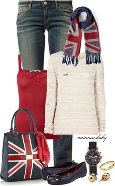 """Union Jack of All Trades"" by autumnsbaby on Polyvore"