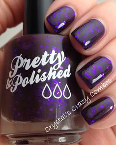 Tears of Dionysus Full Sized Nail Polish by PrettyandPolished, $8.50