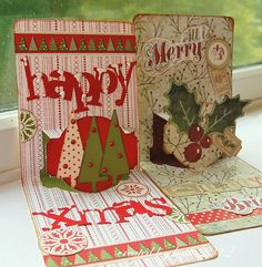 if you pop over on a regular basis you'll know that I have a bit of an obsession with nea. Pop Up Christmas Cards, Pop Up Cards, Elizabeth Craft Designs, Big Shot, Winter Theme, Projects To Try, Card Making, Paper Crafts, Crafty
