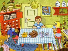 Pippi Pippi Longstocking, Illustrations And Posters, Picture Books, Children's Book Illustration, Book Design, Childrens Books, Sweden, Scandinavian, Kids Rugs