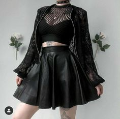 ♡・˚ Kibbi Pixel ( Adrette Outfits, Gothic Outfits, Cute Casual Outfits, Grunge Outfits, Fashion Outfits, Goth Girl Outfits, Casual Goth, Princess Outfits, Egirl Fashion