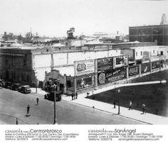 Instalaciones del Partido Nacional Revolucionario. Hoy en día el Hotel del Prado en la Avenida Juárez en en Centro de la Ciudad de México. Los policías de tránsito de aquella época es algo para recordar. #HistoriaCasasola