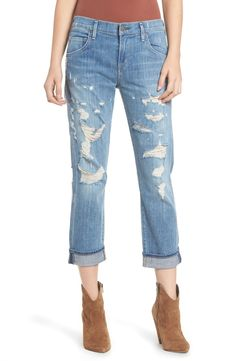 d2f961aead3d Free shipping and returns on AGOLDE Isabel High Waist Ankle Straight Leg  Jeans (Chaumont)