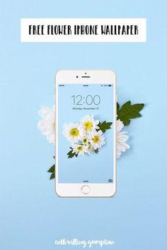 Free Flower iPhone Wallpaper | Enthralling Gumption