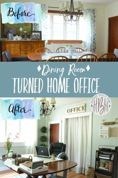 Why 7 families ditched the dining room formal dining rooms for Dining room into office