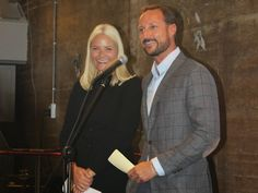 MyRoyals:  Crown Prince Haakon and Crown Princess Mette-Marit attended the opening of a National Centre of Competence, Drammen, Norway, September 15, 2014