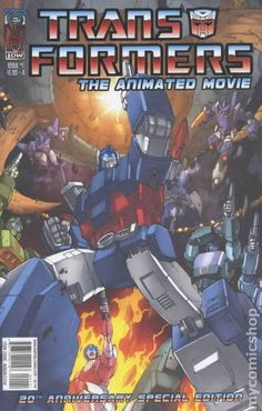 Transformers Animated Movie Adaptation (2006) 1A